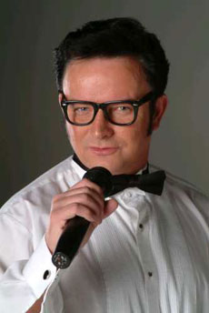 Mike as Buddy Holly