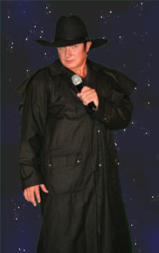Mike Russell as Johnny Cash